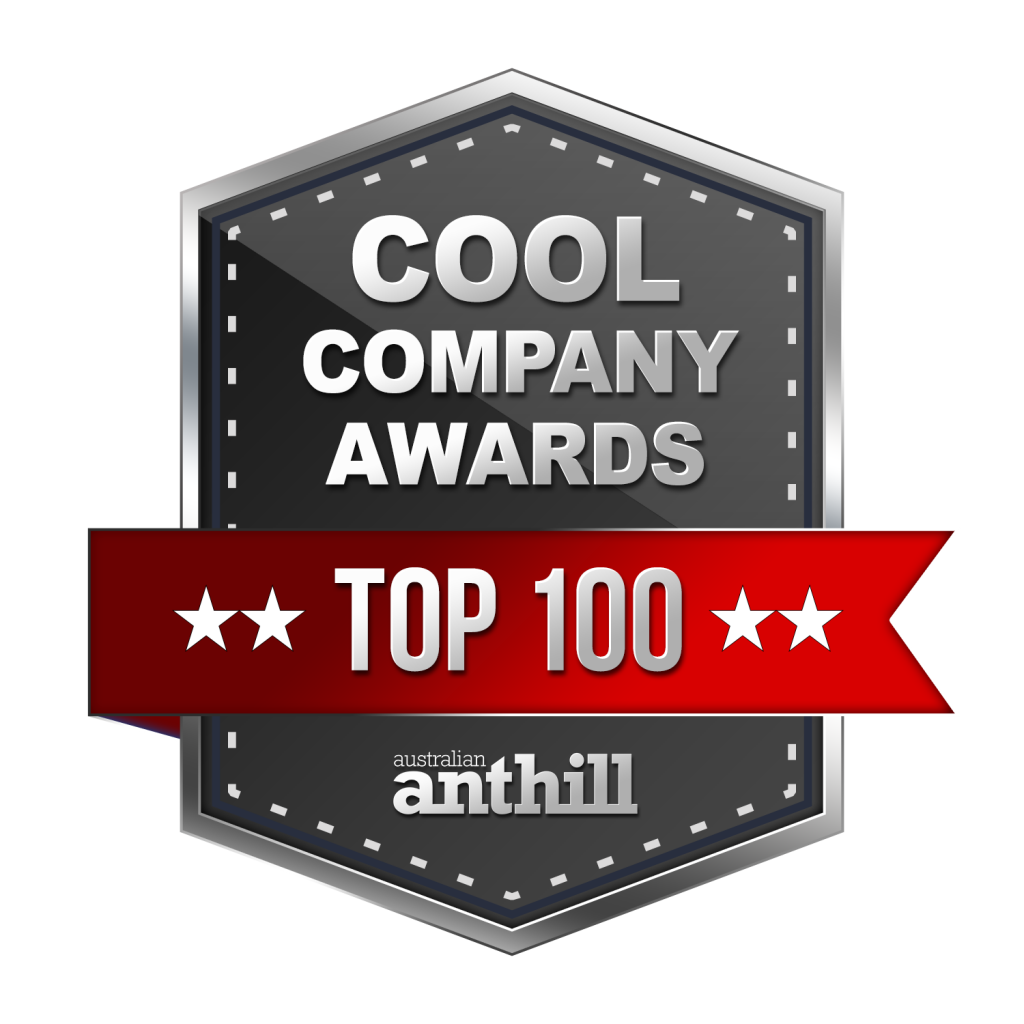 COOL COMPANY AWARDS - BLACK - top 100 - 01