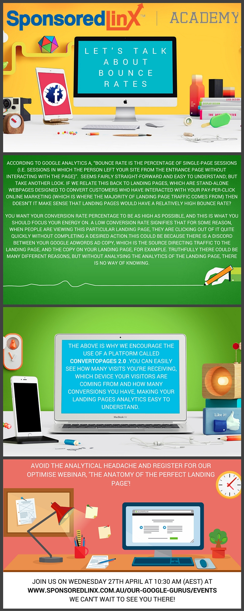 Bounce rate infographic #3