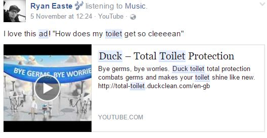 duck cleaner ad